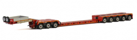WSI Nooteboom Redline Euro PX 3+5 spine bed Trailer